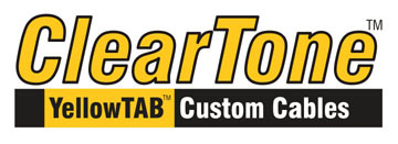 ClearTone Yellow Tab Custom Cables