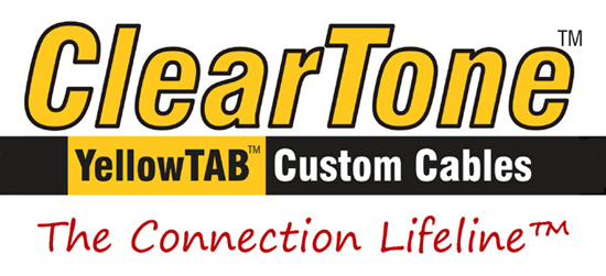 ClearTone YellowTab Custom Cables logo